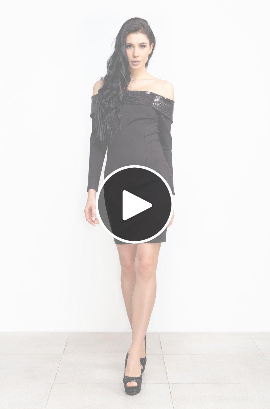 Zuhvala: Платье Варнава черный - перейти к видеообзору товара