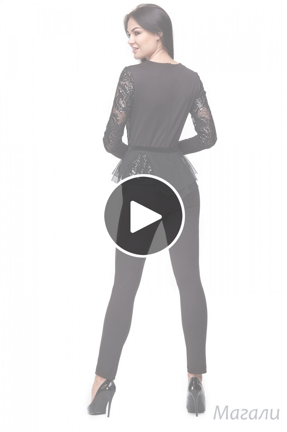 Angel PROVOCATION: Комбинезон + баска МАГАЛИ - перейти к видео товара